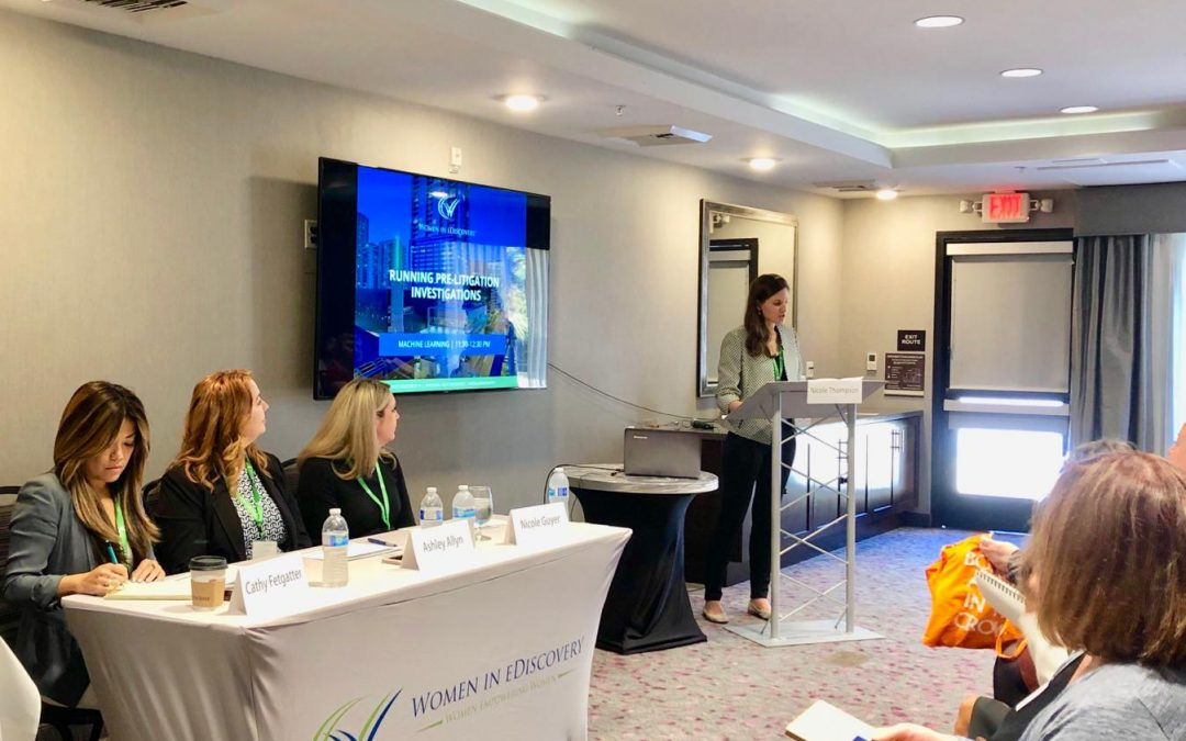 Onna Joins Panel at Women in eDiscovery