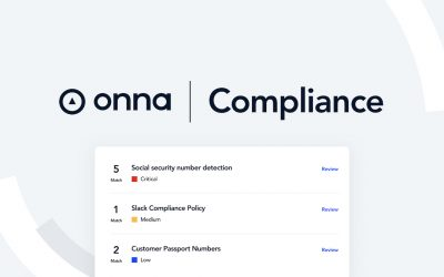 Onna Launches New Product at BoxWorks 2020 to Help Enterprises Automate Data Privacy Law Compliance